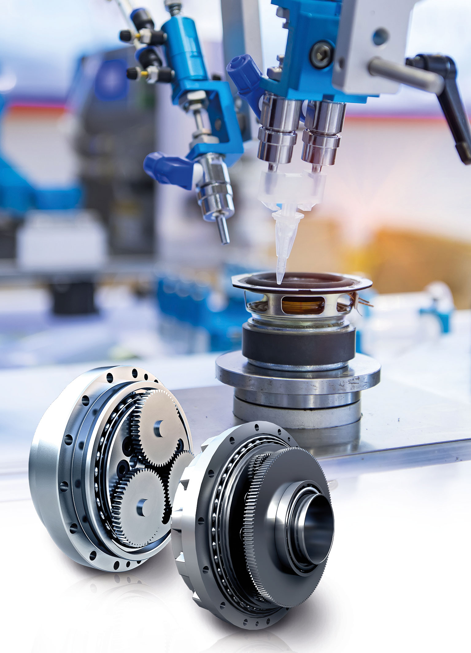 Nabtesco high-performance cycloidal gearboxes for bonding applications
